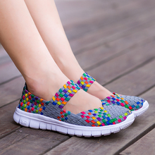 ebay HOT women gym shoes comfortable girls mom wedge Pregnant flats colorful shoes spring summer platform outside loafers
