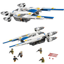 Lepin 05054 679pcs Rebel U Wing Fighter Jets Model Building Blocks Bricks Toys Kids Gifts Compatible with 75155