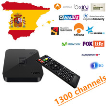 Buy Spain GOTiT Android TV Box IPTV Amlogic S905 Quad Core Android 5.1 1GB RAM 8GB ROM Support 4K H.265 English Franch for $49.30 in AliExpress store