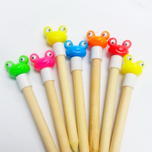 288pc 2.2cm Frog head Pencil Top Cup Cake Decoration Reward Topper Vending Birthday Party Favors Gift Novelty Pinata Bag Filler