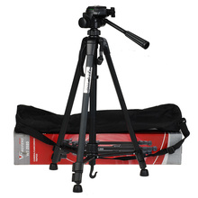 WF Protable Camera Tripod Aluminum alloy with Quick release plate Rocker Arm for Canon Nikon Sony DSLR Camera DV Camcorder
