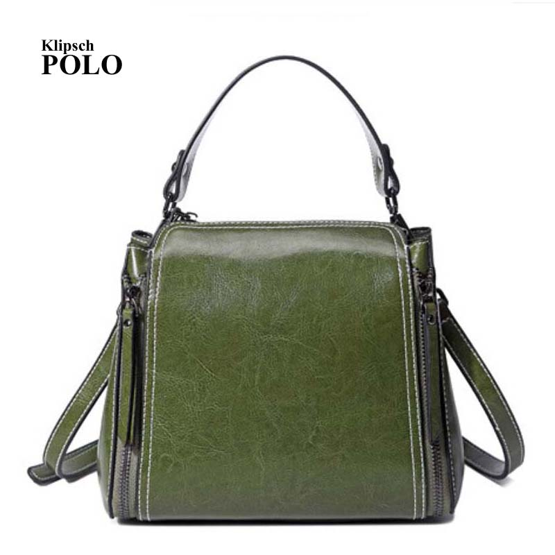 100% Genuine leather Women handbags 2018 new female killer Bag Shoulder Bag Handbag Single Ladies European leather female bag<br>