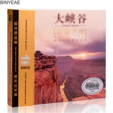BINYEAE- new CD seal: Grand Canyon pure natural light music pure instrument background music vinyl car 3CD disc [free shipping](China)