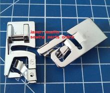 Domestic sewing machine parts presser foot 7307-6/  6MM Hemmer Foot Snap On For Singer Brother Janome New Home Kenmore