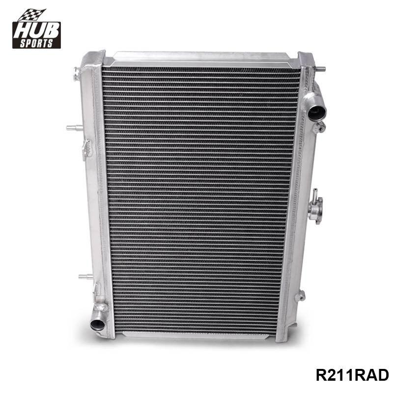 Hubsports - For 95-98 Nissan 240SX Silvia S14 Sr20/Sr20Det MT 2 Row Full Aluminum Radiator HU-R211RAD