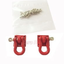Heavy Duty and extremly scale King Tow Shackle with Mounting Bracket for 1/10 RC4WD D90 D110 SCX10 Wrangler