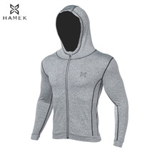 Boys Running Jackets Sweaters Compression Tights Fitness Outdoor Sports Kids Soccer American Football Jackets Reflective zipper(China)