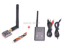 FPV 48CH 5.8G 600mW Wireless AV Power Cables Mini Transmitter TS5828 Receiver RC832 plus RX Module