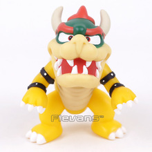 Super Mario Bros Bowser Mini PVC Action Figure Collectible Model Toy 10cm(China)