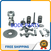 Full sets Kits Parts of Lifan 125cc and 140cc  Cylinder Head for Lifan 125cc 140cc ATV Dirt Bike Motorcycle GT-108