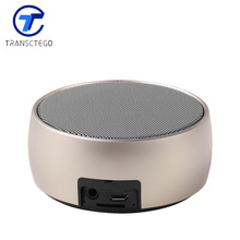 Bluetooth Speaker Mini Metal Wireless Subwoofer Portable Audio Gift  receiver blue tooth soundbar music player support TF card