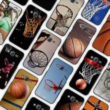 Basketball dark Black Case Cover Shell Protective for Samsung Galaxy J1 J2 J3 J5 J7 2016 2017