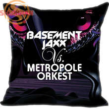 New Nice Basement Jaxx Pillowcase Wedding Decorative Pillow Case Customize Gift For Pillow Cover A311&66