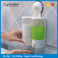 liquid soap dispenser wall mount plastic soap dispenser touch kitchen bathroom suction cup soap dispenser