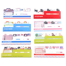 1PC Fly London Towel Animals Sticky Notes Memo Pad Planner Memo Message Marker Removable Adhesive Paper(China)