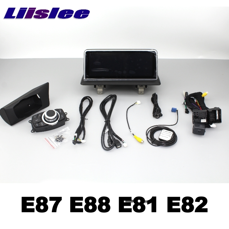 For BMW 1 E87 E88 E81 E82 2004~2013 LiisLee Car Multimedia GPS Audio Hi-Fi Radio Stereo Original Style For NBT Navigation NAVI 114