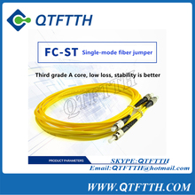 Single mode FC-ST Simplex Optic Fiber Patch Cord Jumper Cable Optic Connector/ JUMPER PC SM 3m FTTH 3m
