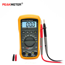 PM8233E High Quality Electrical Digital LCD Multimeter Voltmeter Ammeter AC DC OHM Volt Tester Multitester Current Resistance(China)
