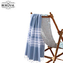 New 2017 Turkish Towel - 100% Cotton Bath Towels For Adult Super Soft Quick Dry Towel Muslin Blanket Brand Towel(China)