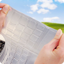 Best price   New Universal Silicone Desktop Computer Keyboard Cover Skin Protector Film 1PC
