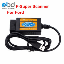 F-Super For Ford Scanner USB Scan Tool For Ford Fucus/Mondeo/Fiesta/Transit OBD2 Diagnostic Tool USB Interface F Super(China)