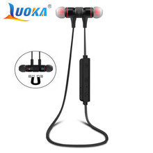 LUOKA M9 Bluetooth Headphones Wireless In-Ear Noise Reduction earphone with Microphone Sweatproof Stereo Bluetooth Headset