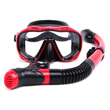 snorkeling equipment diving mask snorkel set professional spearfishing gear Scuba Diving Equipment Dive Mask + Dry Snorkel Set