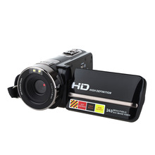 HDV-301STR MINI Photo Camera DV 16X 1080P FULL HD Rotatable Screen Digital Video Camera Photo Camcorder Audio Video Cam