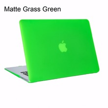 Matte Frosted Hard Shell Case Macbook Air 11 13 Pro Retina 11 12 13 15 inch Laptop Cases Bag Mac book Air 11 13 Case
