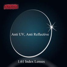 Chashma Lenses 1.61 Index Clear Recipe Lens Eyes Optical Glasses Customize Prescription Lenses