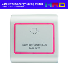 125khz T57 T5557 T5577 Type Low Frequency Rfid Contactless Hotel Keycard Switch Guest Room Key Card Holder Power Energy Saver