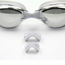 Anti-Fog UV Protection Adjustable Men And Women Common Plating Professional Swimming Goggles Clear View Eyeglasses(China)