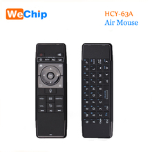 Original Mini HCY-63A Air Mouse Wireless Keyboard 2.4GHz Remote Control Touchpad For Android Tv Box Notebook Tablet Pc(China)