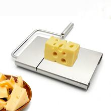 Hot Practical Cheese Slicer Stainless Steel Butter Cake Cutting Knife Kitchen Cooking Tool Gadgets Accessories(China)