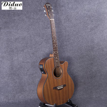 40-51 guitars 40 inch 5 EQ Electric Acoustic Guitar Sapele wood guitarra with guitar pickup tuner strings