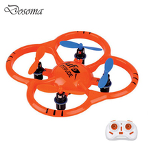 RC Helicopter 2.4G  6 Axis Gyro 4CH Radio Control mini Quadcopter UFO Drone Toys with LED Lights