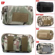 Mini Portable Outdoor Waterproof Waist Bag Military Tactical Camping Travel Sport Pouch Hold Keys,Coins practical