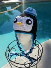 octonauts hat, boys clothes,kids clothes,halloween costume,kids costumes,childrens clothing,Penguin hat  all sizes