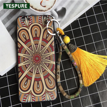 YESPURE Wholesale TPU Retro Fancy Women Mobile Phone Insurance for Iphone 7 Tassle Strap Handphone Protector Pantalla Celular(China)