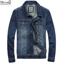 2017 fashion men's cotton denim Jackets man jean jacket coat casual denim jacket