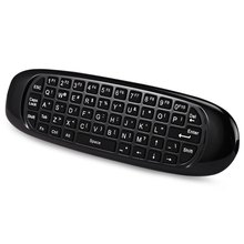 TK668 2.4GHz Wireless Air Mouse  Remote Controller + QWERTY Keyboard with LED Indicator Support for Mac OS Linux Android Windows