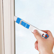 Blue Multifunctional Door And Window Slot Cleaning Brush Keyboard Brush Slot Brush Household Cleaning Products(China)