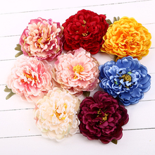 Fashion Woman Lady Female Elegant Bohemian Peony Flower Retro Holiday Hair Accessory Latin Dance Flowers Headwear Hairpins Clips