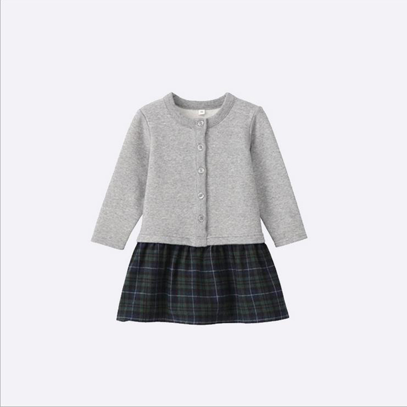 Spring fall baby girls dress,applique embroidery long-sleeved dress,stripe kids casual clothes,brand children clothing (2-6 yrs)<br><br>Aliexpress
