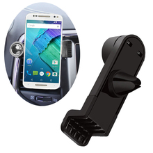 360 Degree Portable Car Air Vent Holder for Motorola Moto G4 Play Phone Car Trestle for Elephone Trunk P6000 P5000 S2 P4000(China)