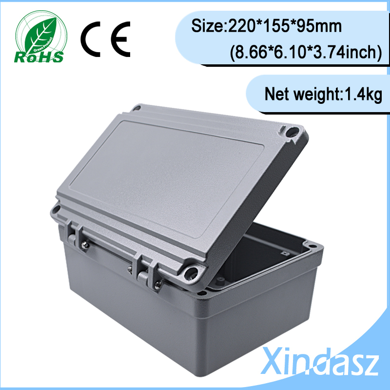 (XD-FA14)220*155*95mm(8.66*6.10*3.74inch)High quality guarantee Sealed Water-proof Diecast Aluminium Enclosure<br><br>Aliexpress