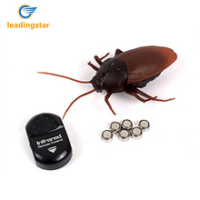 LeadingStar Funny Toy Kids Toys Creative Simulation Infrared Remote Control Cockroach The Entire Toy zk30(China)