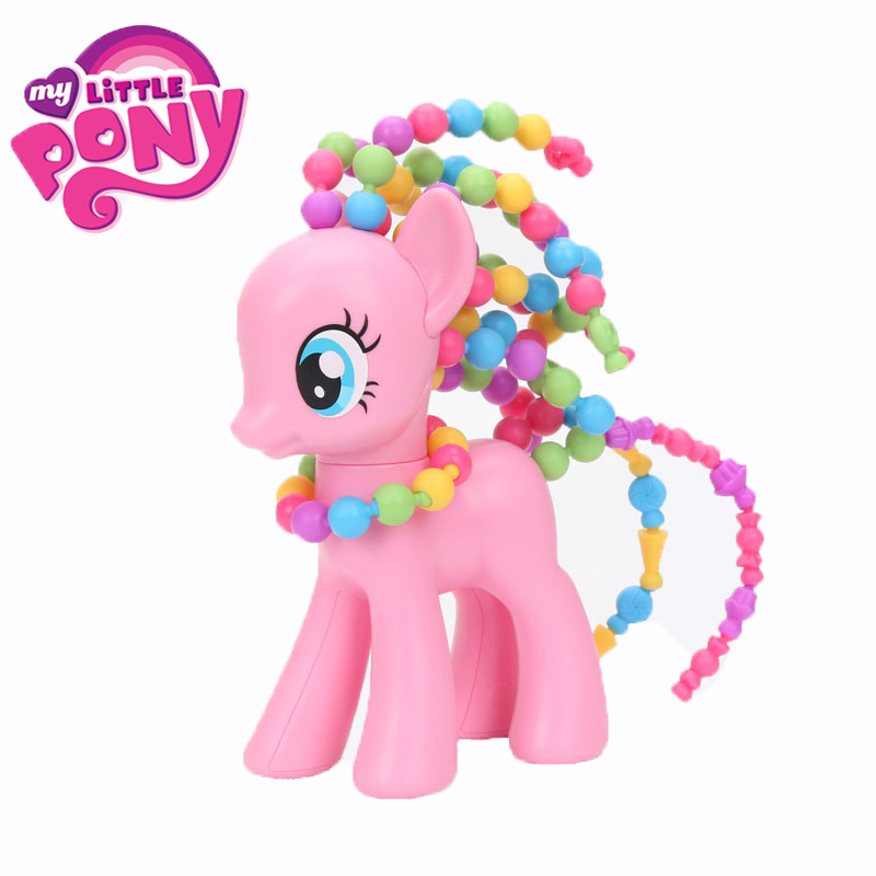 My Little Pony Toy Dolls Friendship Magic beads hair Mark Beautiful pony My Little Pony For Girl PVC Material Action Figure<br>