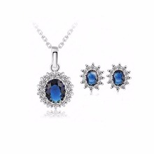 NK831 New Men Fashion Short  Love good Necklace Earrings Set Collares Bijoux For Women Jewelry Cheap Choker