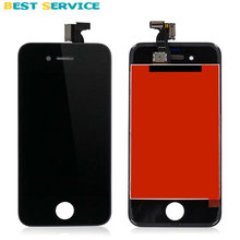OEM For iPhone 4S LCD Screen Display with Touch Screen Digitizer Assembly White/Black + Tools Free Shipping with Track Number